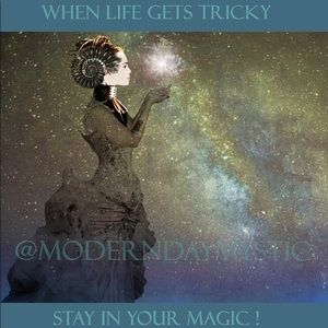 When life gets tricky, stay in your magic!